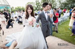 【婚禮紀錄】結婚晚宴 台中心之芳庭 天使證婚亭